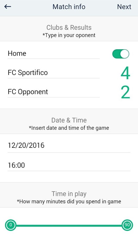 Sportifico - Players & Coaches- screenshot