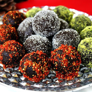 Cacao and Walnut Holiday Truffles (Raw, Vegan, Gluten-Free, Dairy-Free, Paleo-Friendly, No Refined Sugar) Recipe