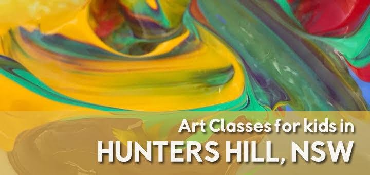 Art Classes in Hunters Hill NSW | LesPetitsPainters.com.au