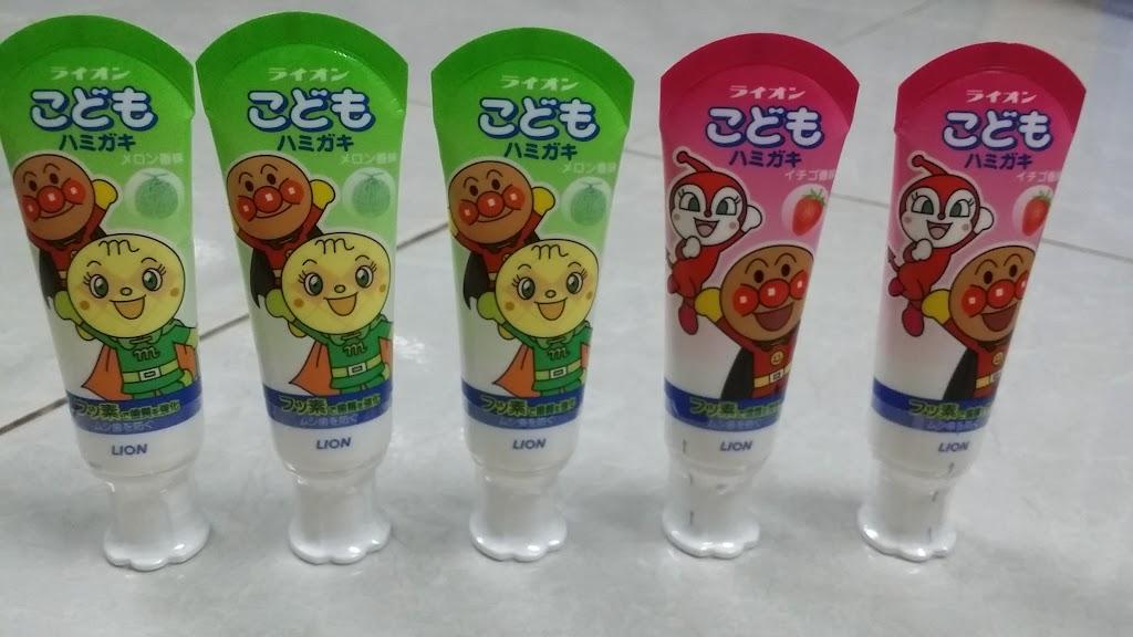 Kem đánh răng trẻ em Lion