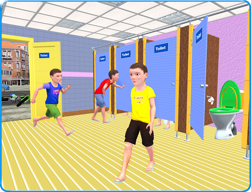 Kids Toilet Emergency Pro 3D android2mod screenshots 9