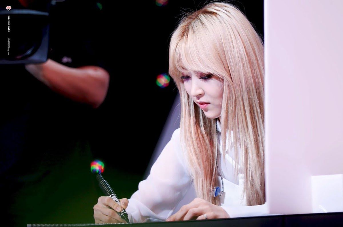 moonbyul writing