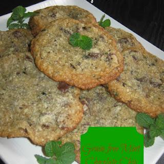 Grain-Free Mint Chocolate Chip Cookies