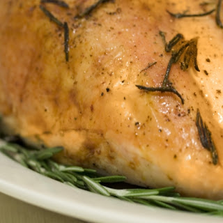 Turkey Breast with Spicy Ginger-Quince Chutney