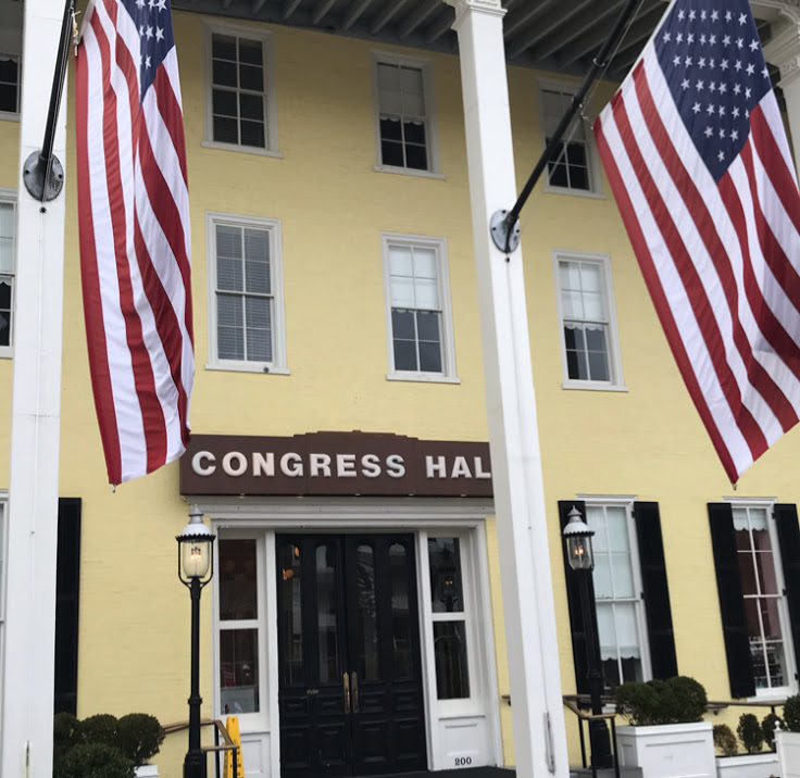 Congress Hall has been welcoming guests since 1978.