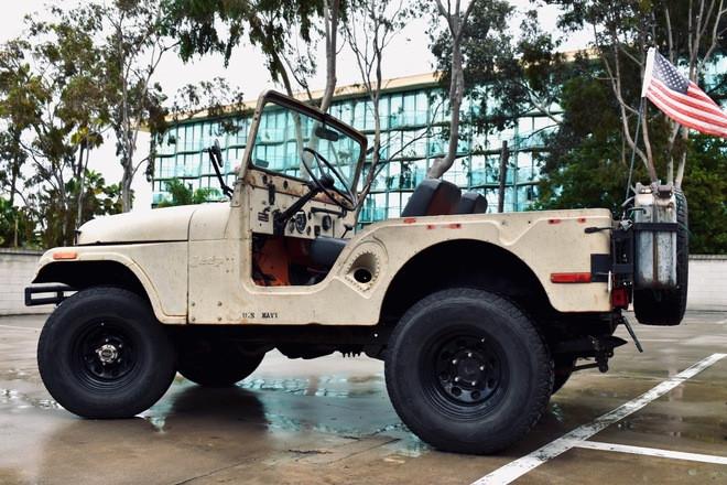 'Rusty' 1973 United States Military Jeep Cj Hire CA