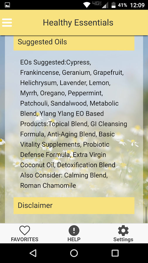 Healthy Essentials Oil Recipes- screenshot