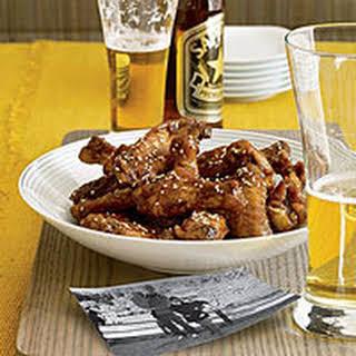 Twice-Fried Chicken Wings.