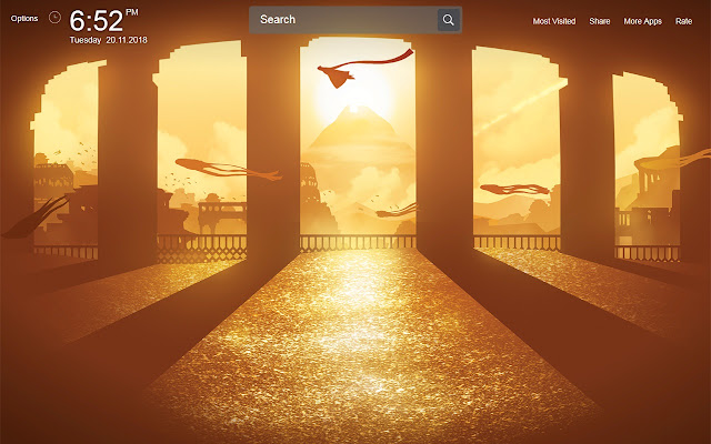 Journey Video Game Wallpapers Theme New Tab