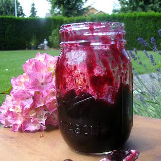 Easy Peasy Blueberry Sauce.