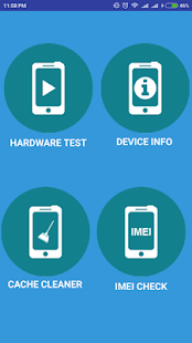 Phone Tester vs Hardware Info - náhled