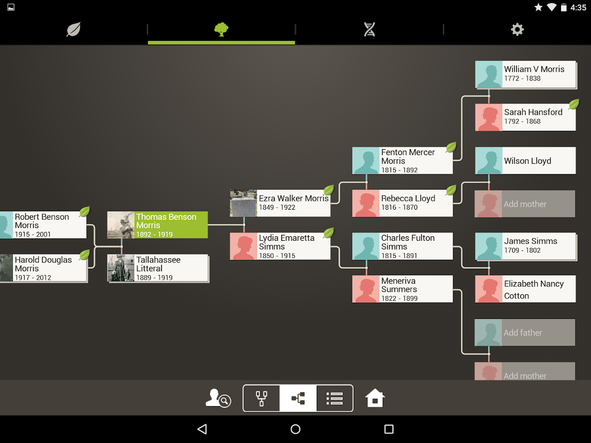 Ancestry- screenshot