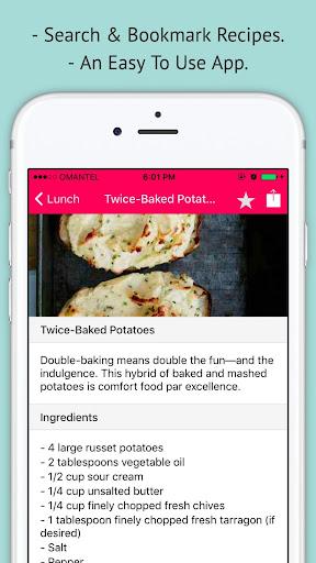 Potato Recipes - Offline Easy Potato Recipes 1.0.0 screenshots 2
