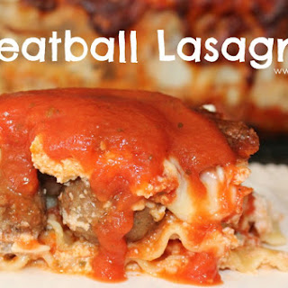 ~Meatball Lasagna! Recipe