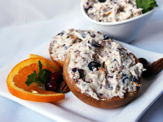 Holiday Harvest Cranberry Orange Pecan Spread Recipe