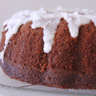 Coconut Glazed Carrot Cake.