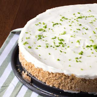 Margarita Pie with a Pretzel Crust