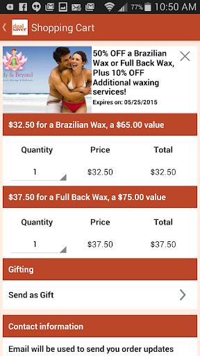 【免費購物App】dealsaver – Local Daily Deals-APP點子