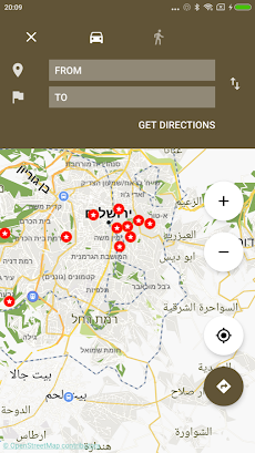 Jerusalem Map offlineのおすすめ画像3