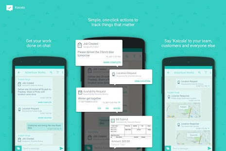 Kaizala: Get work done on chat Screenshot 1
