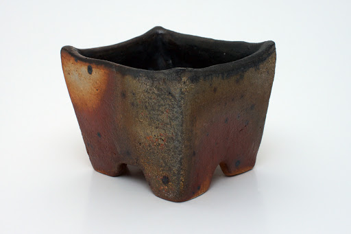 Chris Lewis Ceramic Footed Container 2