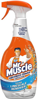 Mr. Muscle Bathroom and Toilet Cleaner Advanced Power - 750ml