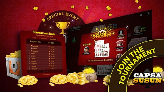 play Capsa Susun for Cashtree on pc & mac