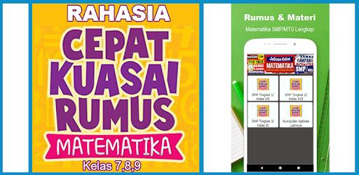 Rumus Matematika Smp Mts Kelas 7 8 9 Smart Materi Apps On Google Play