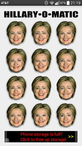 Hillary O-Matic