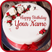 Name On Birthday Cake - Special Birthday Wishes