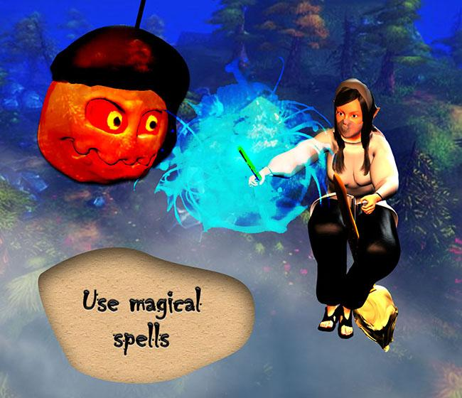 Tappy Witch - Flying Sorceress- screenshot