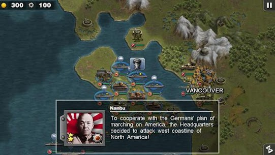 Glory of Generals :Pacific HD Apk Download For Android and Iphone 6