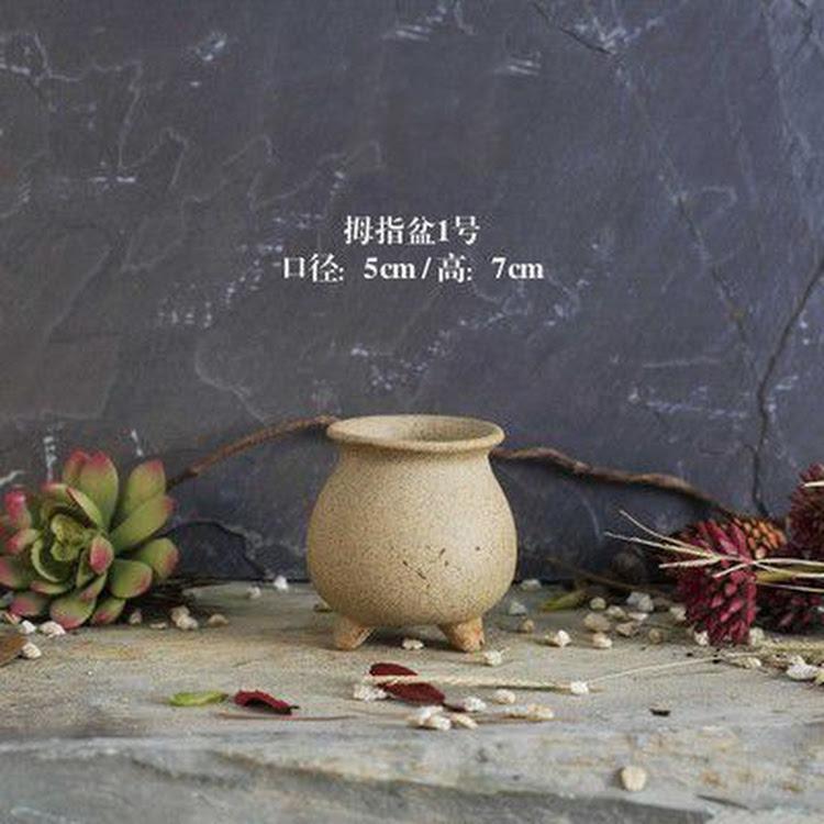 Miniature Ceramic Pot - 01 by AquaticsForevers Enterprise