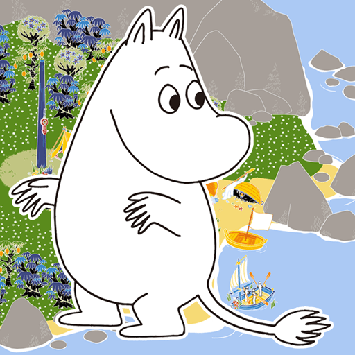 Balance puzzle Moomin Little My and his friends Japan