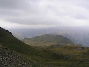 Photo: De Merlette à Freissinières: ciel couvert sur le plateau de Jujal