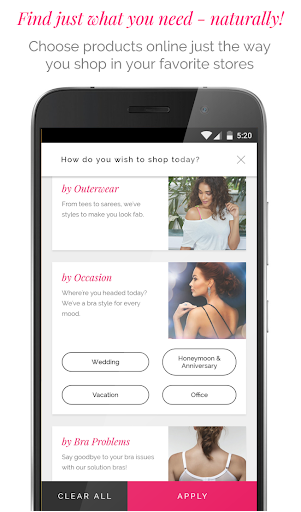 Zivame - Shop Lingerie, Activewear, Apparel Online 3.1.1 screenshots 7