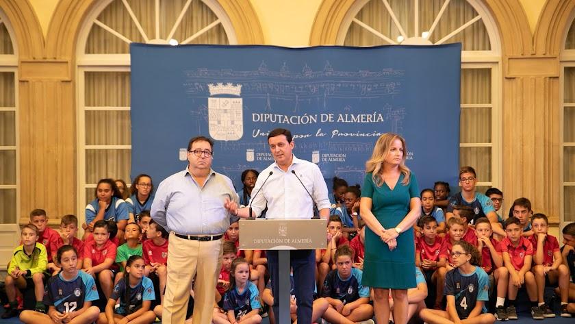Puesta de largo del gran evento roquetero en la Diputación.