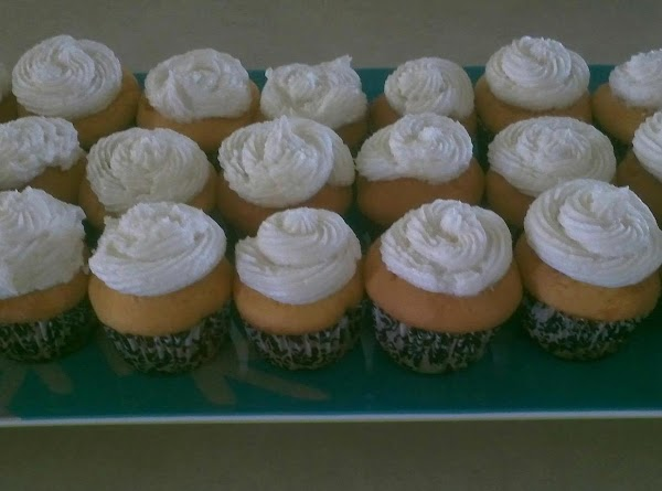 French Vanilla Cupcakes (filled) Recipe