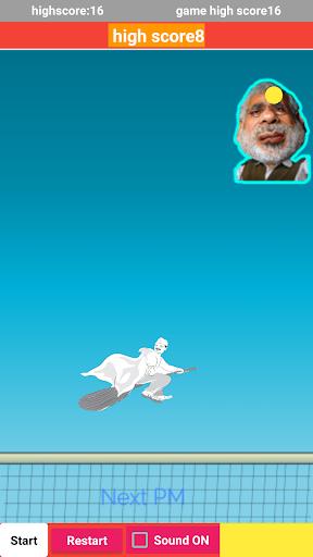 Modi Pong new game  captures d'u00e9cran 1