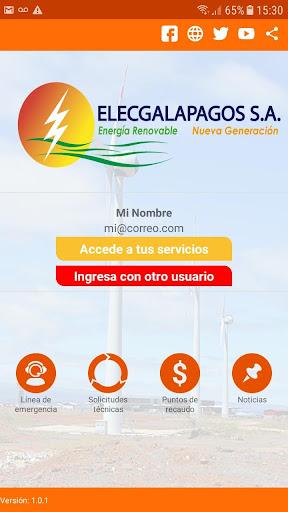 ELECGALAPAGOS S.A. screenshot 1