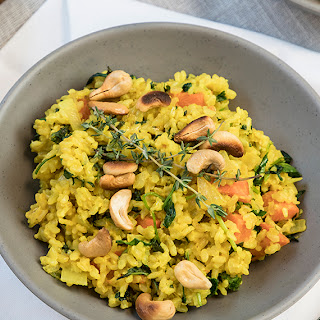 Coconutmilk Turmeric Rice.
