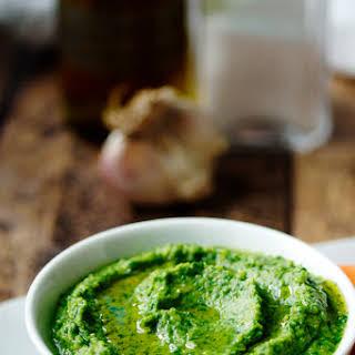 Spinach Hummus.