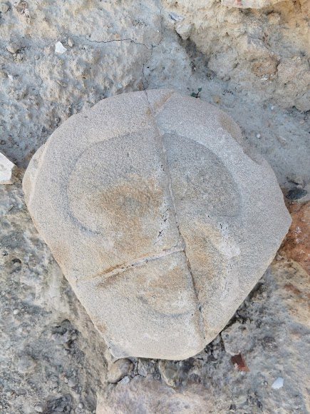 Piedra tallada.