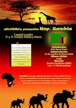 Photo: Un país de África: República de Zambia.