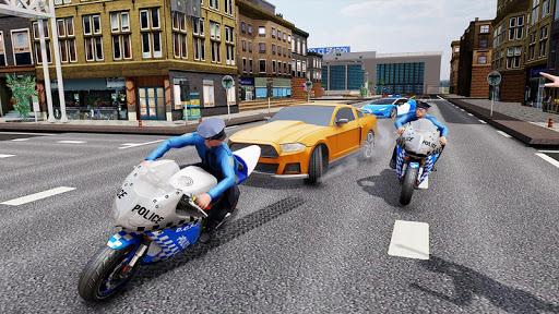 US Police Bike Chase 2020 3.7 screenshots 5