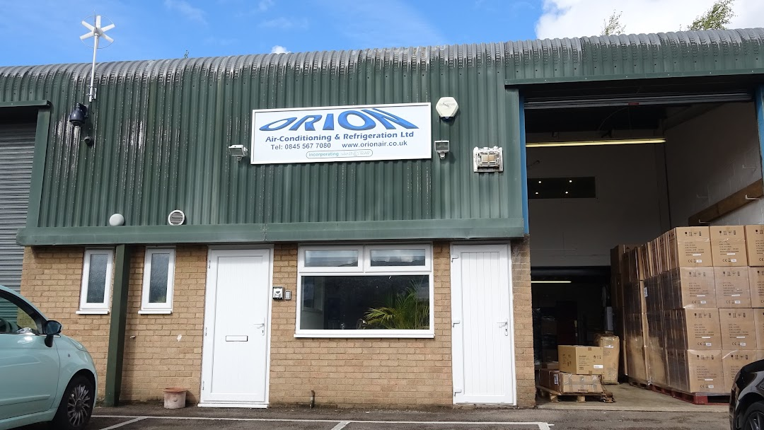 Orion Air Conditioning And Refrigeration Limited Kempston Fans And Heater Warehouse
