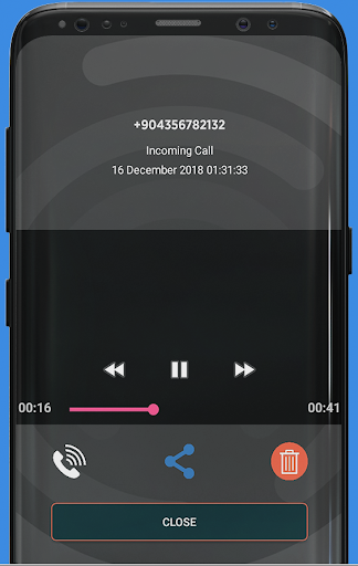 Call Recorder PRO Android 9 Pie (With Caller Name)  screenshots 1