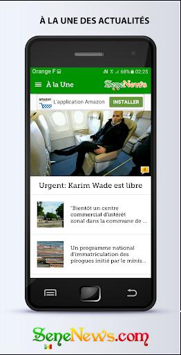SeneNews : News in Senegal ss1