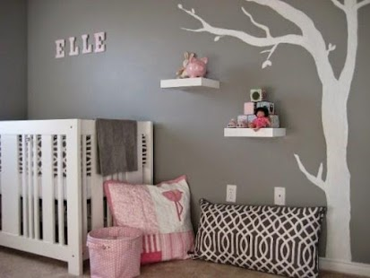 Beautiful baby room ideas android apps on google play - Toddler girl room paint ideas ...