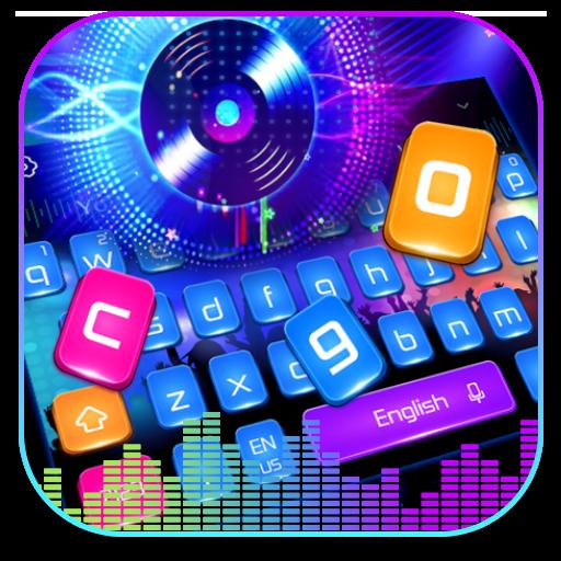 Electronic Music DJ Color Keyboard